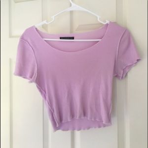 Brandy Melville Light purple tee